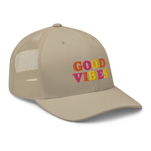 Good Vibes Trucker Cap