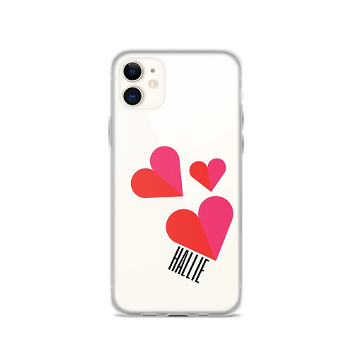 Triple Heart iPhone Case