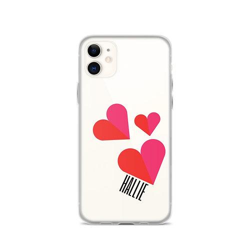 Triple Heart iPhone Case