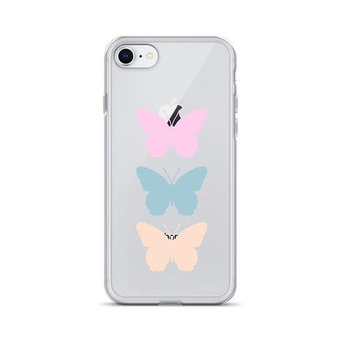 Triple Butterfly iPhone Case