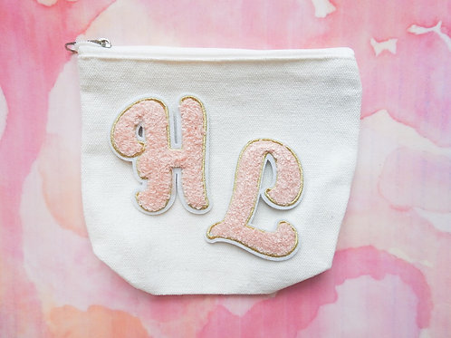 Custom Double Letter Pouch