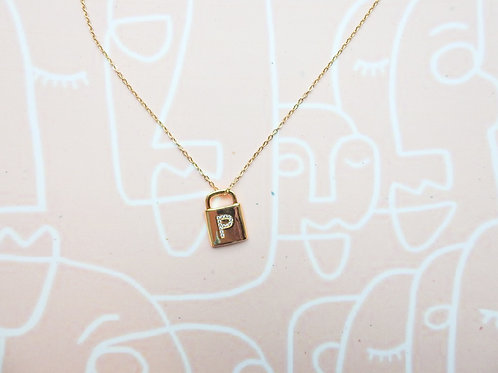 Brooke Initial Necklace (Pre-Order)