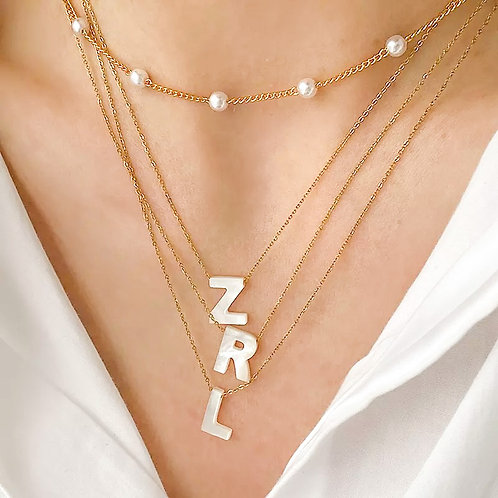 Sierra Initial Necklace