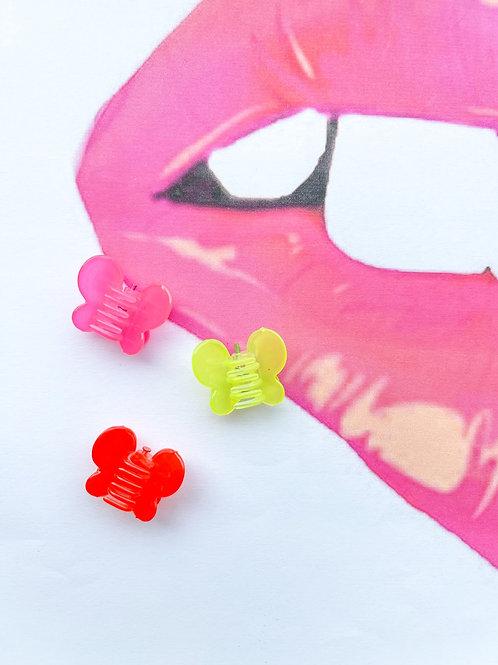 Caroline Butterfly Clip Set