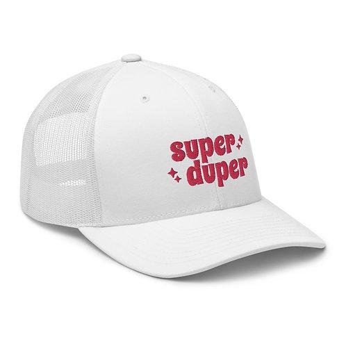Super Duper Trucker Cap