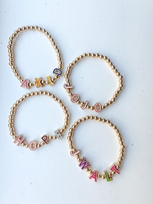 Sophia Custom Name Bracelet