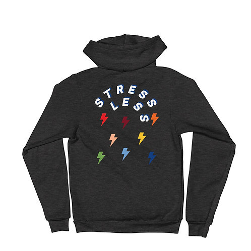 Stress Less Zip Up