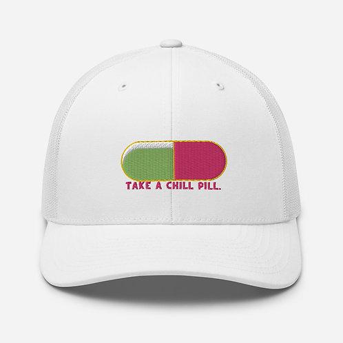 Chill Pill Trucker Cap