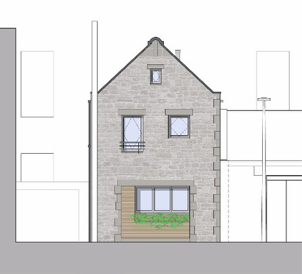 New build mews residence at a grade A listed property.