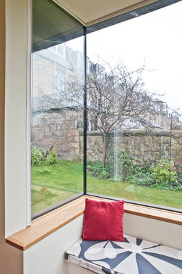 Bedroom extension to a B listed building within Merchiston Greenhill Conservation Area.