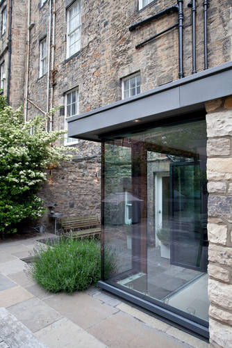 Extension and refurbishments to a listed building within Edinburgh New Town Conservation Area.