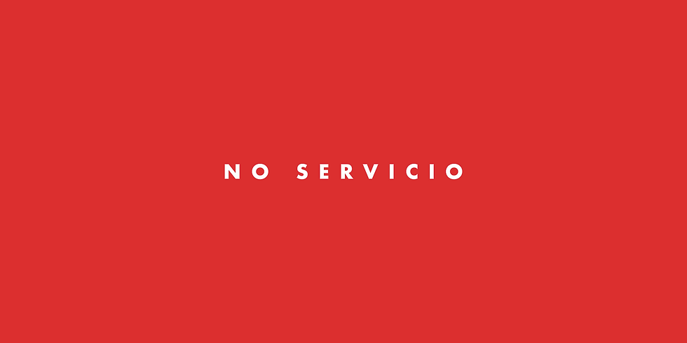 Servicio Cancelado