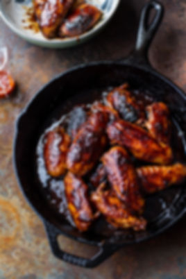 surfside pizza bbq chicken wings