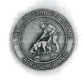 VSwP der ARGE Schweiß Bergisches Land