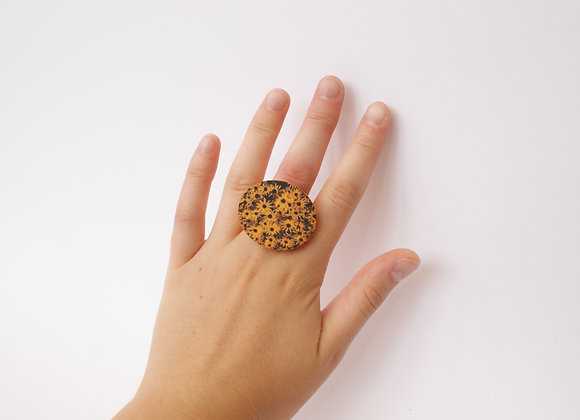 Mango Flower Ring
