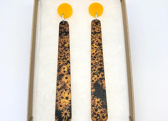 Mango Flower Earrings