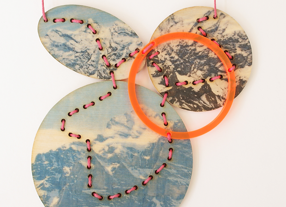 Blue Mountain Necklace