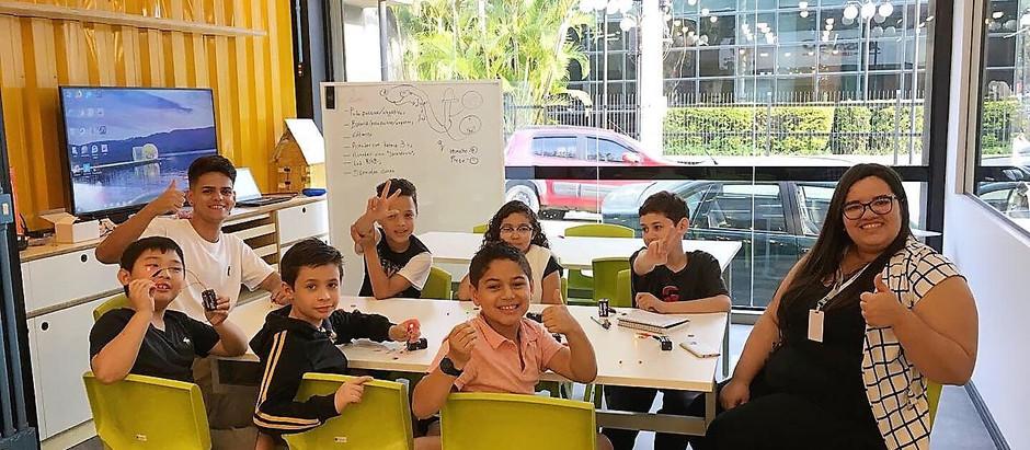 Na Assinco, o Maker Kids trabalha a criatividade e aprendizagem com muita diversão