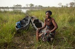 Mokoro Poler - Okavango Delta