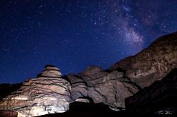 Look to the stars - Wadi Rum