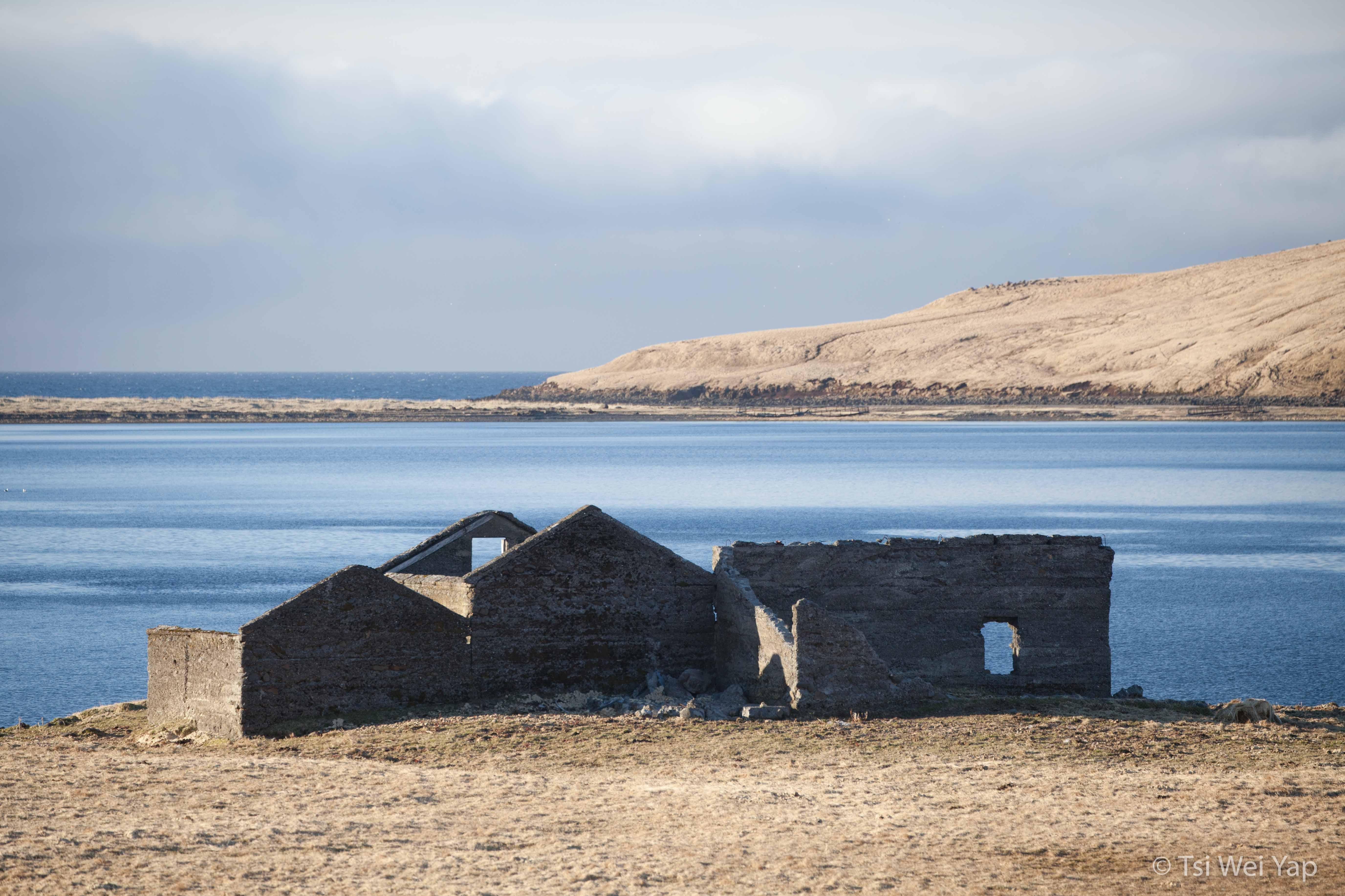 Ruins at the Snaefellsnes Peninsula