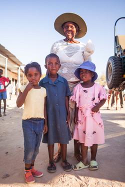 Family living near the Matobos National Park - Bulawayo