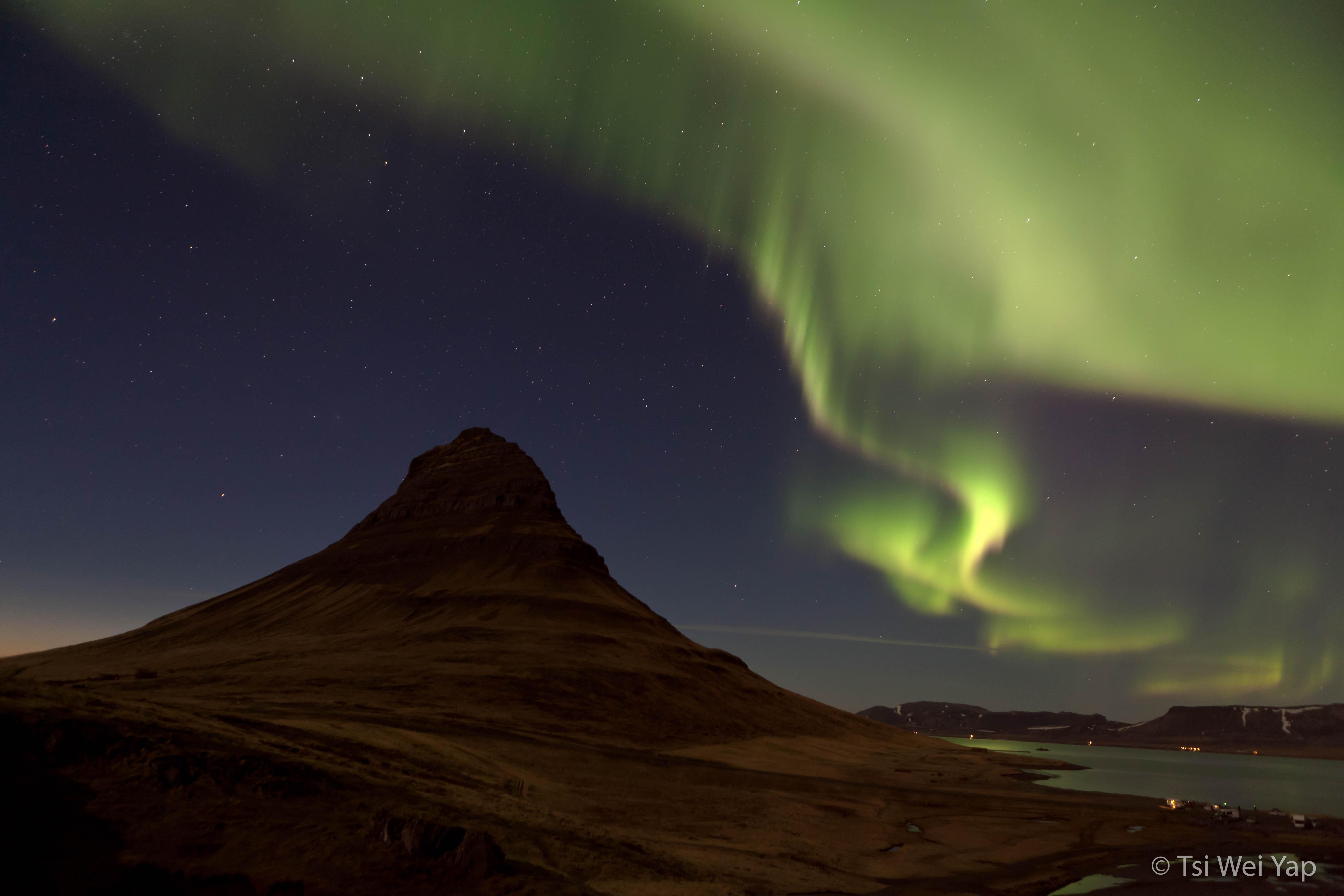 Aurora Borealis at Grundarfjord
