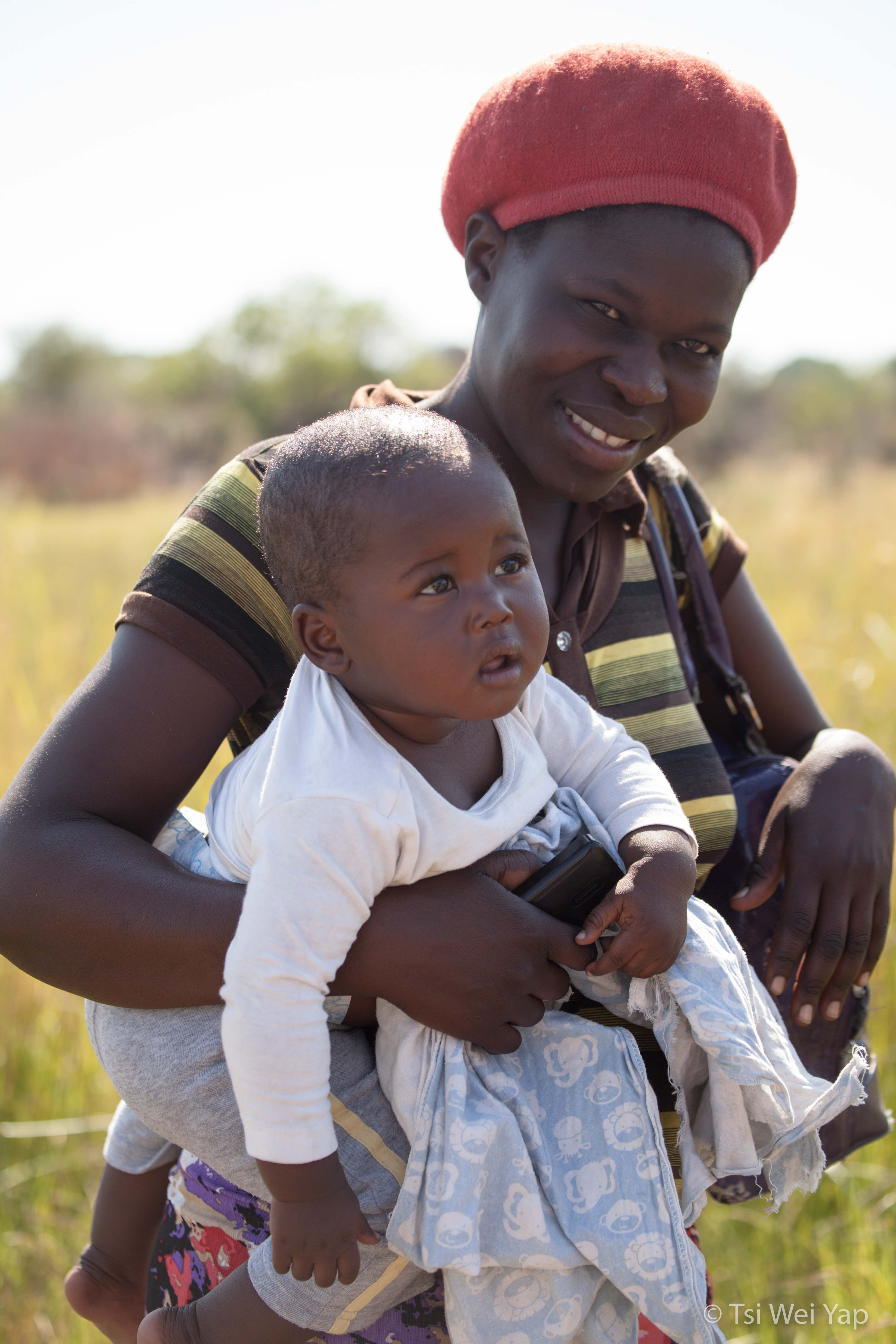 Mother and Child - Okavango Delta