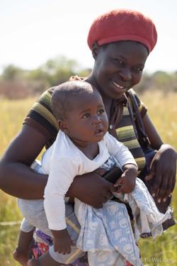 Mother and Child - Okavango Delta