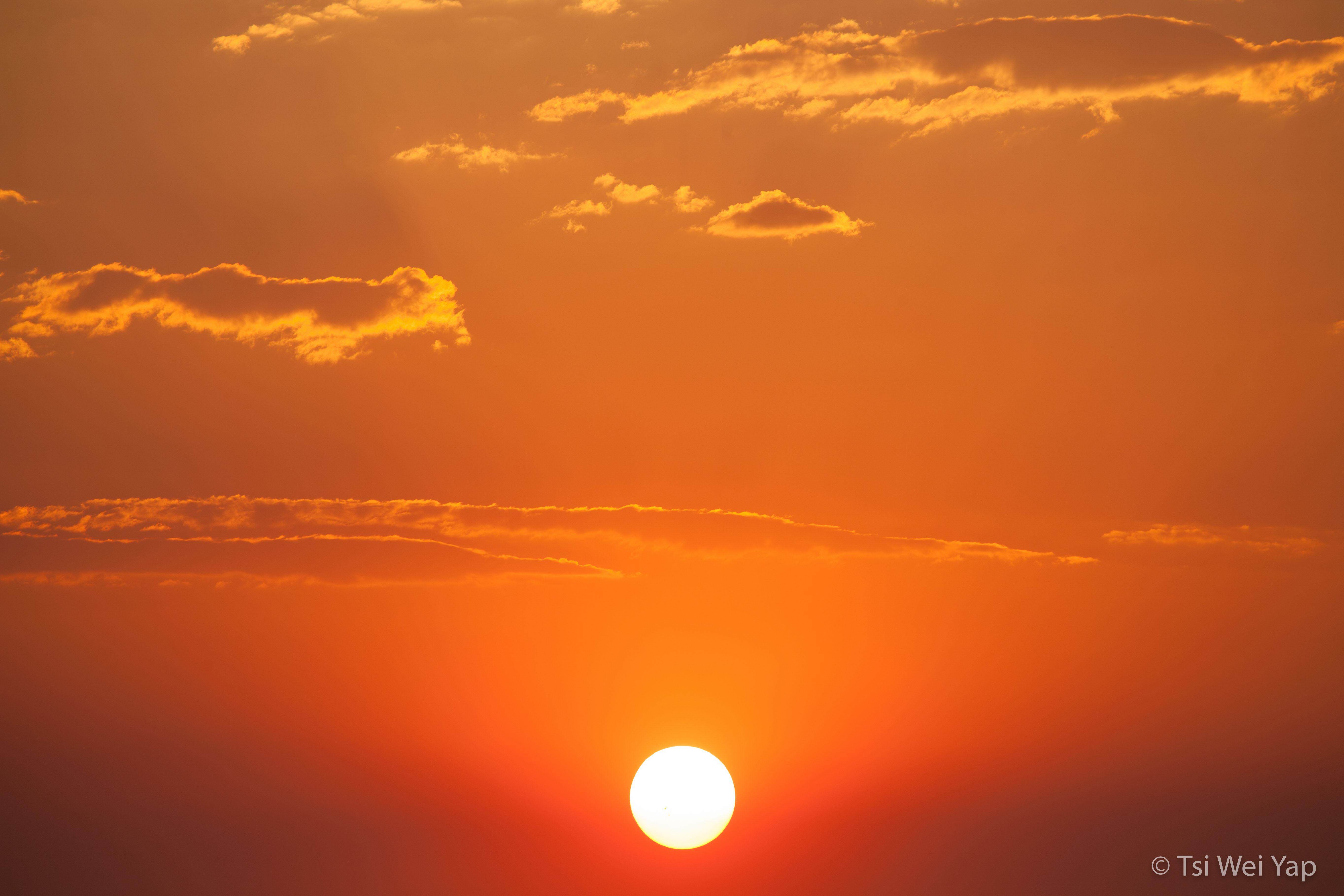 Chobe River Warm Sunset