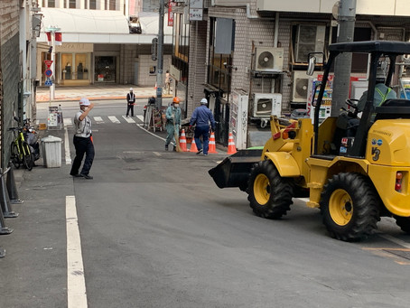 渋谷区・道玄坂・4月のスタートは1人での任務(^O^)/株式会社ピアレス【東京】【警備業】