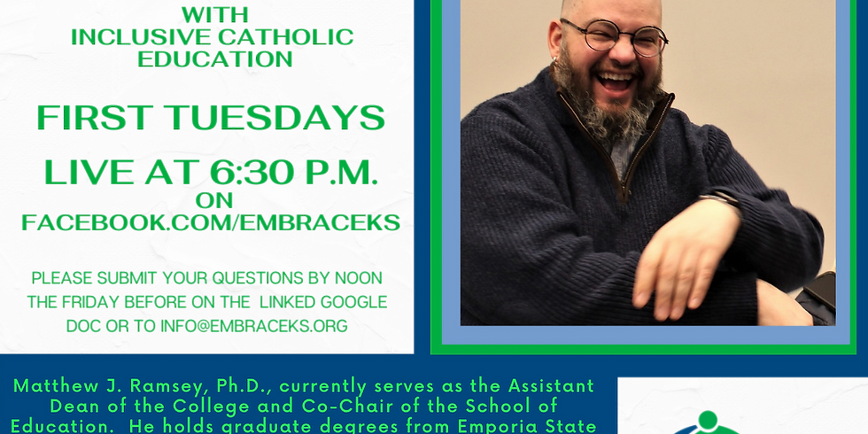Facebook Live! Embracing All of God's Children with Inclusive Catholic Education