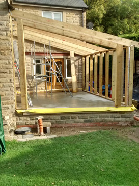 Sheffield Maintenance ClarionFM Extension Framing Works