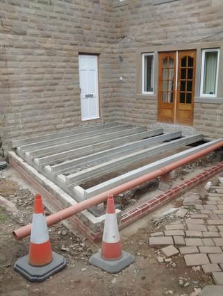 Sheffield Maintenance Clarion FM Extension Floor Beams