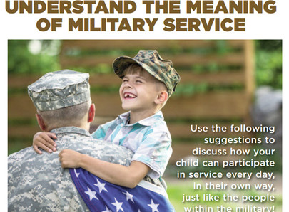 Help Your Child Understand the Meaning of Military Service