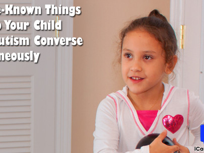 4 Little-Known Things To Help Your Child With Autism Converse Spontaneously