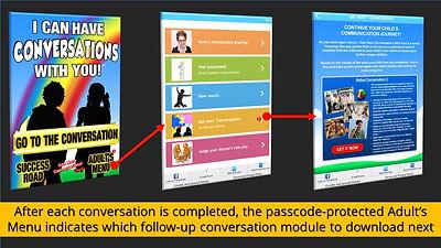 Conversations app - Get More Conversations