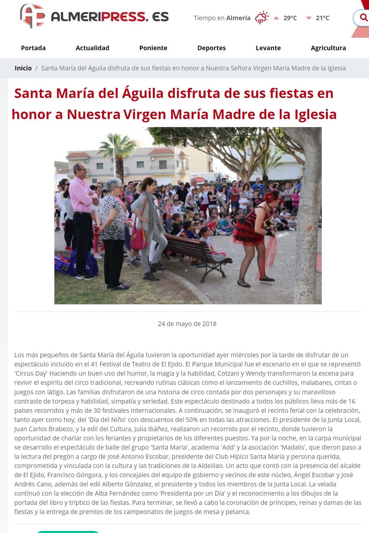 FESTIVAL EL EJIDO, SPAIN 1