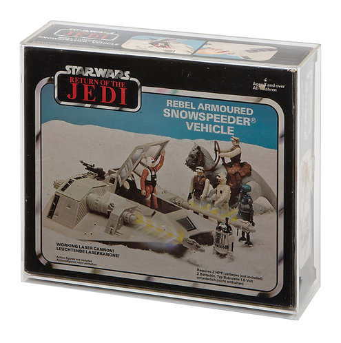 Snowspeeder Boxed Vehicle Display Case