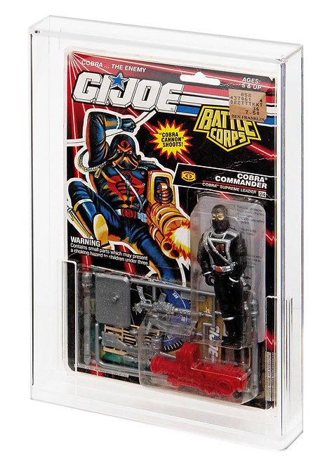 GI-Joe (USA) Tall Card Acrylic Display Case