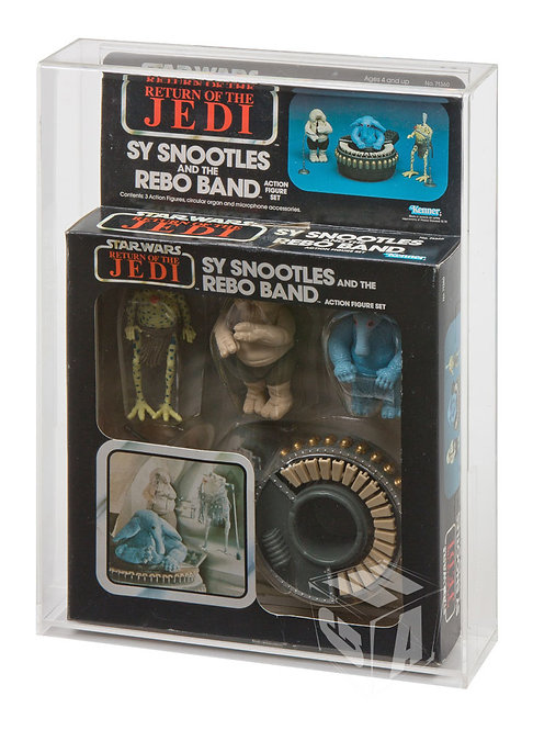 Kenner Sy Snootles and the Rebo Band Boxed Display Case