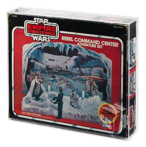 *** PREORDER *** Kenner ESB Rebel Command Center & Hoth Ice Planet Display Case