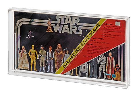 Vintage Star Wars Early Bird Certificate Acrylic Display Case