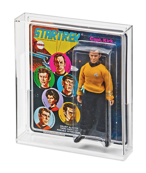 MEGO Star Trek S1 & POTA 2nd Issue Acrylic Display Case