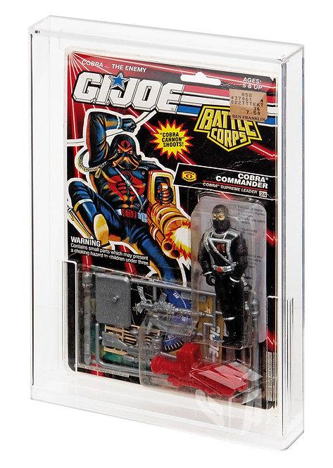 GI-Joe (USA) Tall Card Acrylic Display Case