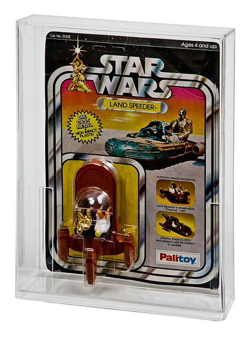 SW & ESB Carded Diecast Vehicle Display Case