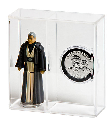 Loose Action Figure With Coin Display Case - Standard 3 3/4""