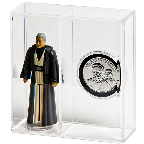 """Loose Action Figure With Coin Display Case - Standard 3 3/4"""""""