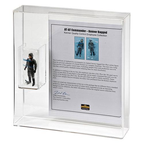 Loose/Bagged Figure + COA/Flyer/Leaflet Bespoke Display Case