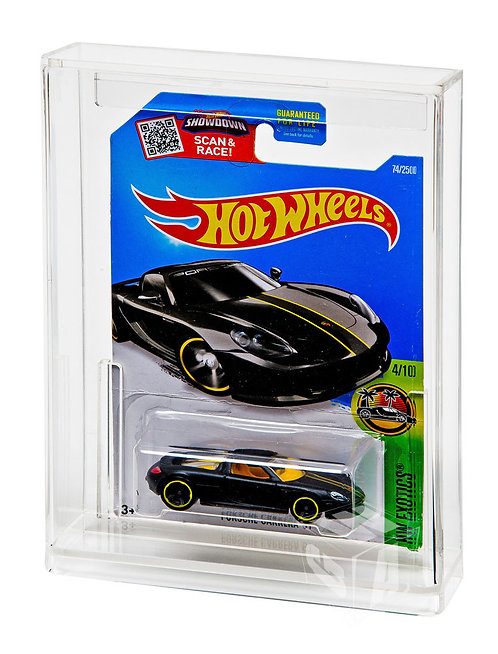 Carded Diecast Vehicle Display Case - Hot Wheels (Tall Card)